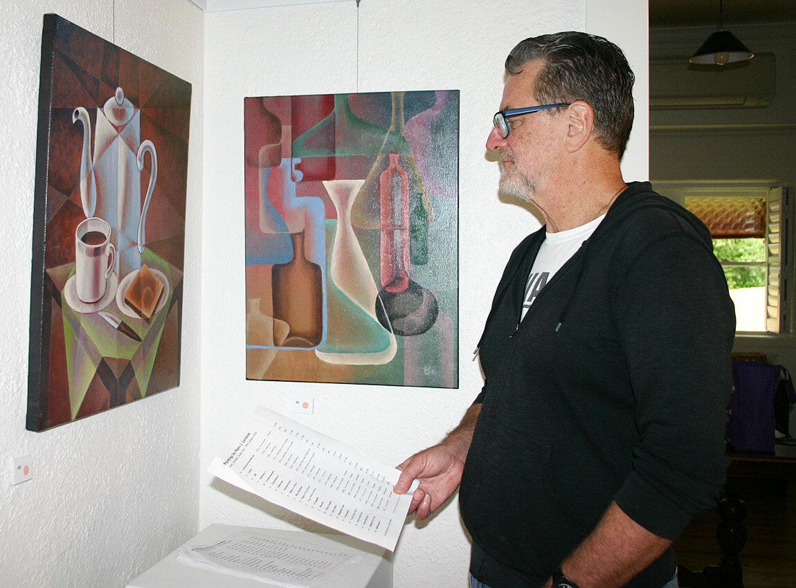 Gary McPhedran in WAS Gallery