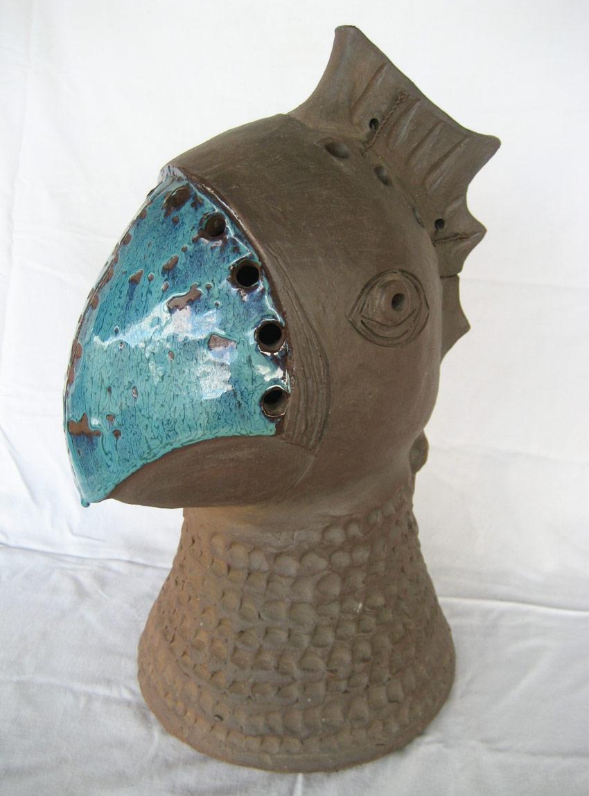Ceramic sculpture by Judy Lorraine